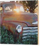 Homestead Truck Wood Print