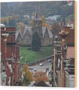 My Hometown Cumberland, Maryland Wood Print