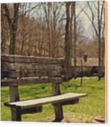 Hometown Series - Have A Seat Wood Print