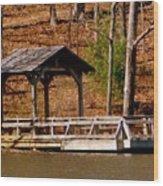 Hometown Series - Sherando Lake -2 Wood Print