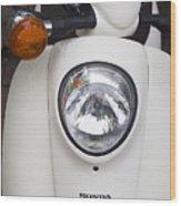 Honda Scooter Wood Print