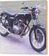 Honda Cb360t 1976 Wood Print