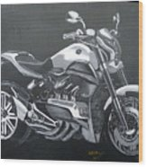 Honda Concept Evo 6 Wood Print