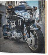 Honda Motorbike Wood Print
