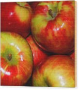 Honeycrisp Apples Wood Print