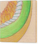 Honeydew Wood Print