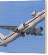 Honeywell 757 Engine Testbed N757hw Wood Print