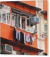Hong Kong Apartment 12 Wood Print