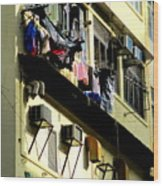 Hong Kong Apartment 8 Wood Print