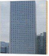 Hong Kong Architecture 41 Wood Print