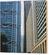 Hong Kong Architecture 49 Wood Print