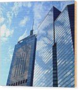 Hong Kong Architecture 58 Wood Print