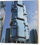 Hong Kong Architecture 73 Wood Print