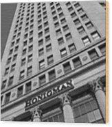Honigman Fashion - Downtown Detroit Wood Print