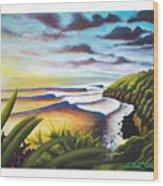 Honolua Bay Wood Print