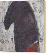 Honoring Red Cloud Wood Print by Johanna Elik