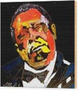 Honoring The King 1925-2015 Wood Print