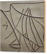 Honour - Tile Wood Print