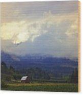 Hood River - Season Of Beauty Wood Print
