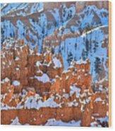 Hoodoo Fortress Wood Print