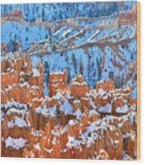 Hoodoos Bleachers Wood Print