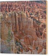 Hoodoos Bryce Canyon-utah Wood Print