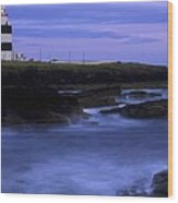 Hook Head Lighthouse, Co Wexford Wood Print by The Irish Image Collection