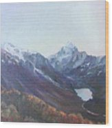 Hookers Valley New Zealand Wood Print