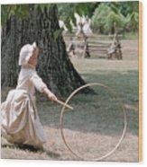 Hoop Wood Print