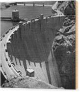 Hoover Dam, 1948 Wood Print