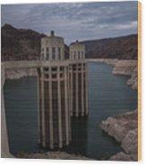 Hoover Dam Wood Print