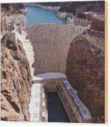 Hoover Dam II Wood Print