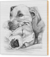 Hope And  Innocence Wood Print by Deanna Maxwell