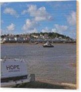 Hope Appledore Devon Wood Print