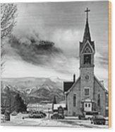 Hope Evangelical Lutheran Church Wood Print