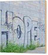 Hope For Paradise Wood Print by Lynda Dawson-Youngclaus
