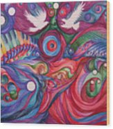 Hope Through Creation Wood Print by NHowell