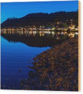 Hopfensee Lake Landscape Wood Print