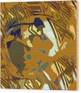 Hopi Flute Player Wood Print