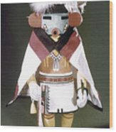 Hopi Kachina Doll Wood Print