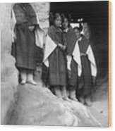 Hopi Maidens, 1906 Wood Print by Granger