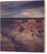 Hopi Point - Grand Canyon Wood Print