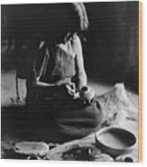 Hopi Potter, C1906 Wood Print by Granger