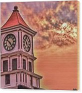 Hoptown Time Wood Print