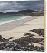 Horgabost Bay Wood Print