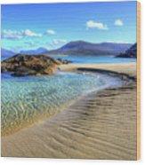 Horgabost - Isle Of Harris Wood Print