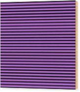 Horizontal Black Inside Stripes 30-p0169 Wood Print