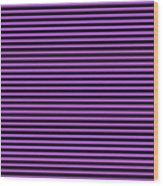 Horizontal Black Outside Stripes 30-p0169 Wood Print