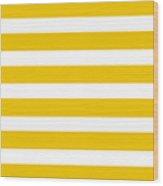 Horizontal White Inside Stripes 05-p0169 Wood Print