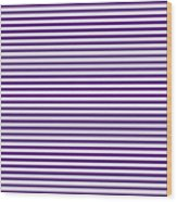 Horizontal White Outside Stripes 30-p0169 Wood Print